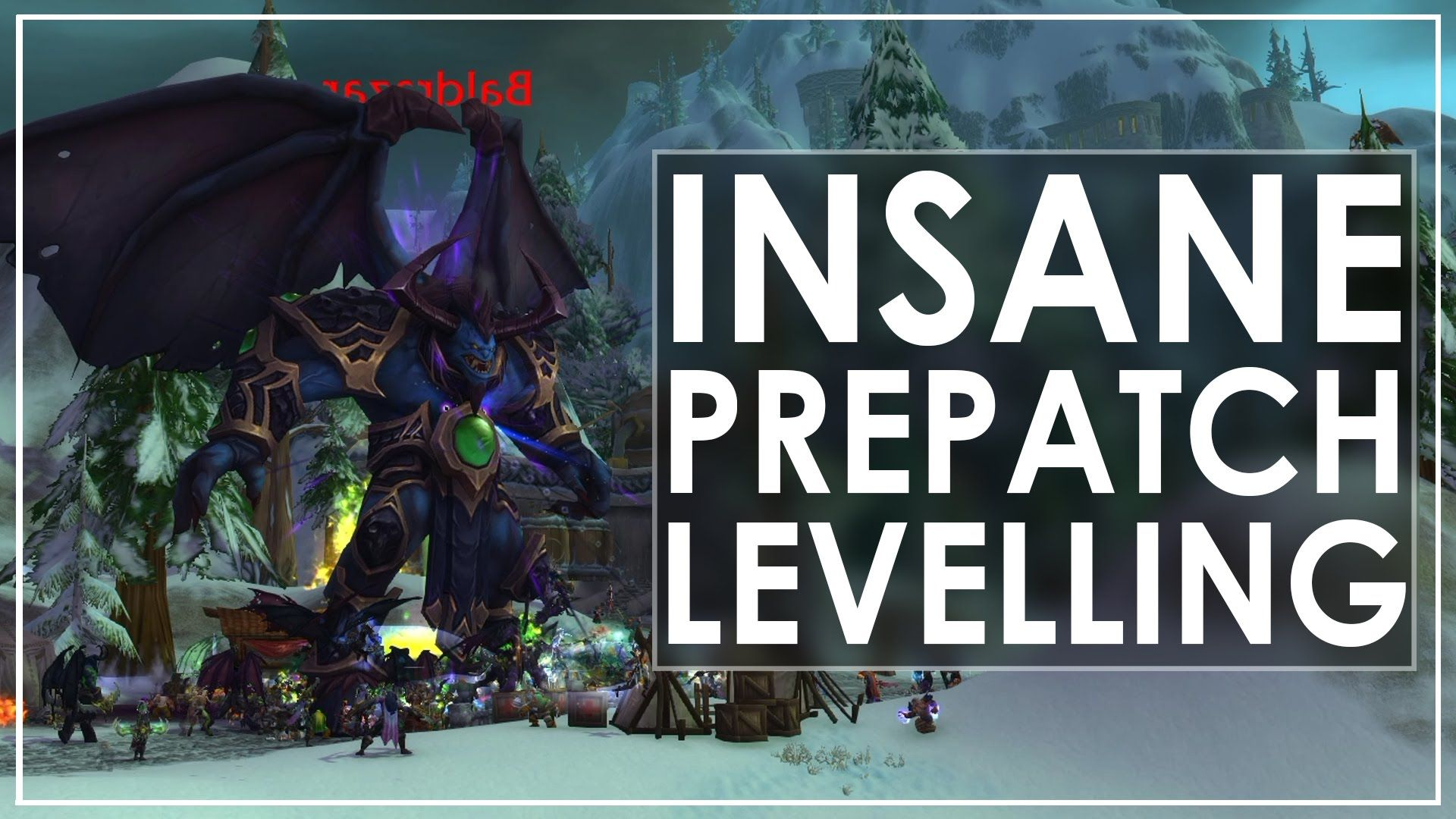 Pre-Patch Leveling Method - 10 levels in 15 mins. [video  text] #worldofwarcraft #blizzard #Hearthstone #wow #Warcraft #BlizzardCS #gaming