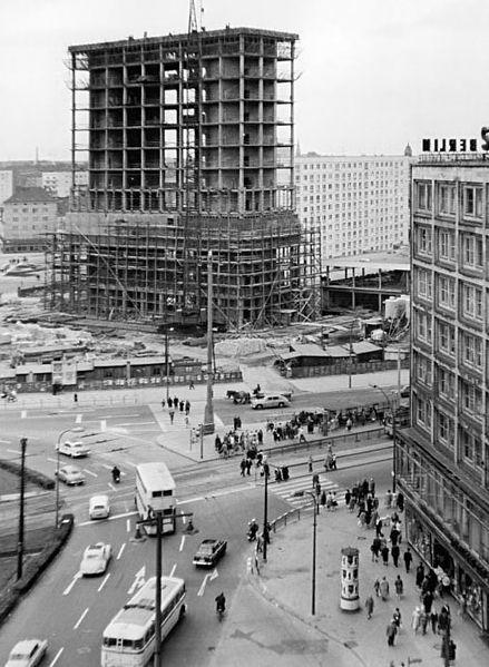 File Bundesarchiv Bild 183 B0822 0005 001 Berlin Alexanderplatz Baustelle Jpg Berlin Berlin Stadt Berlin Alexanderplatz