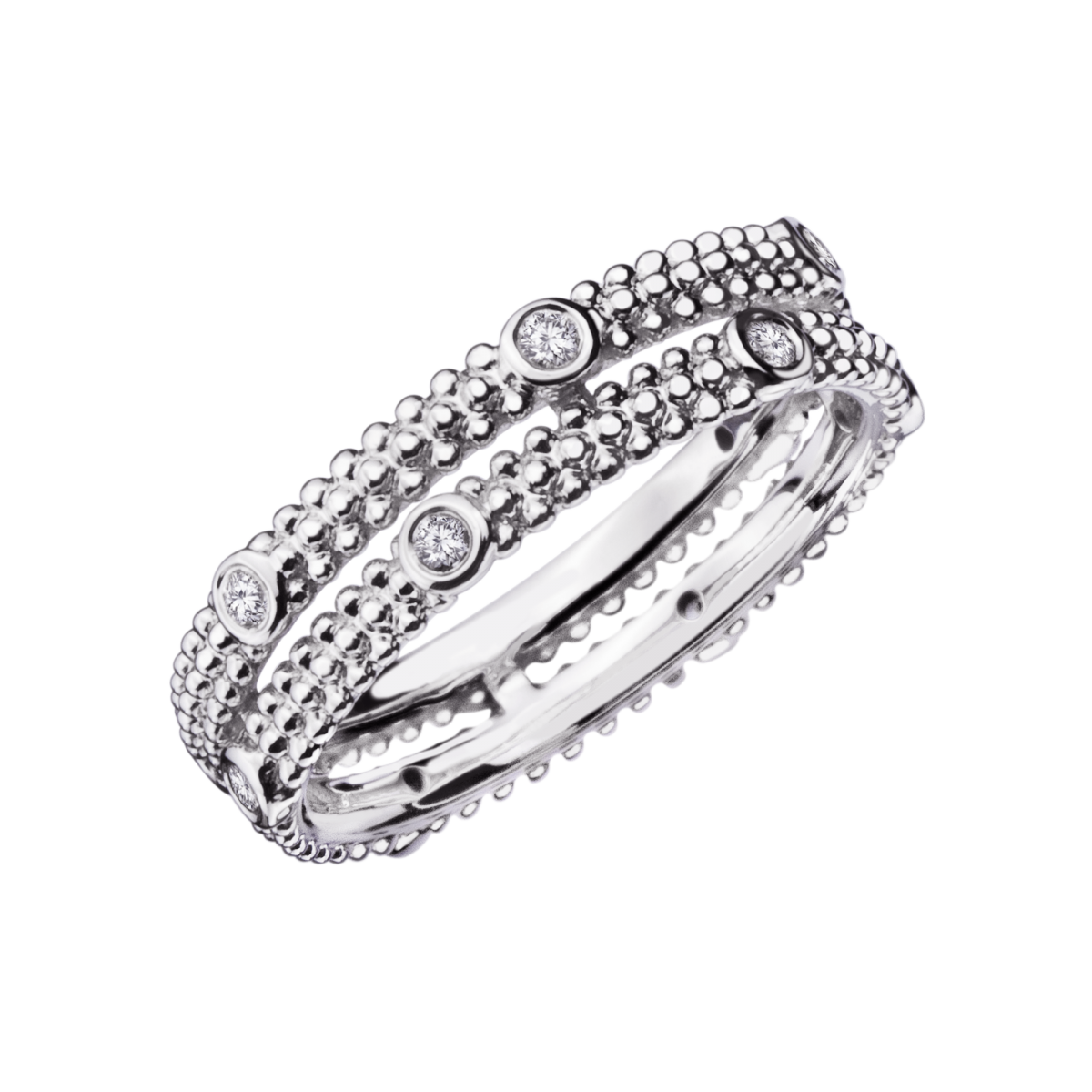 Souvent Bague Le Premier Jour ANGE, or blanc, diamants - Mauboussin | GIFT  HL94