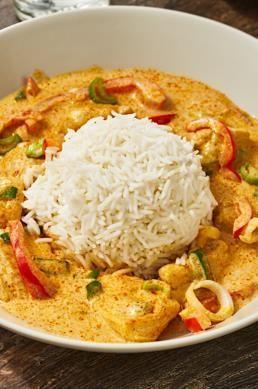 Hähnchen-Pfanne mit Kokosmilch #onepandinnerschicken