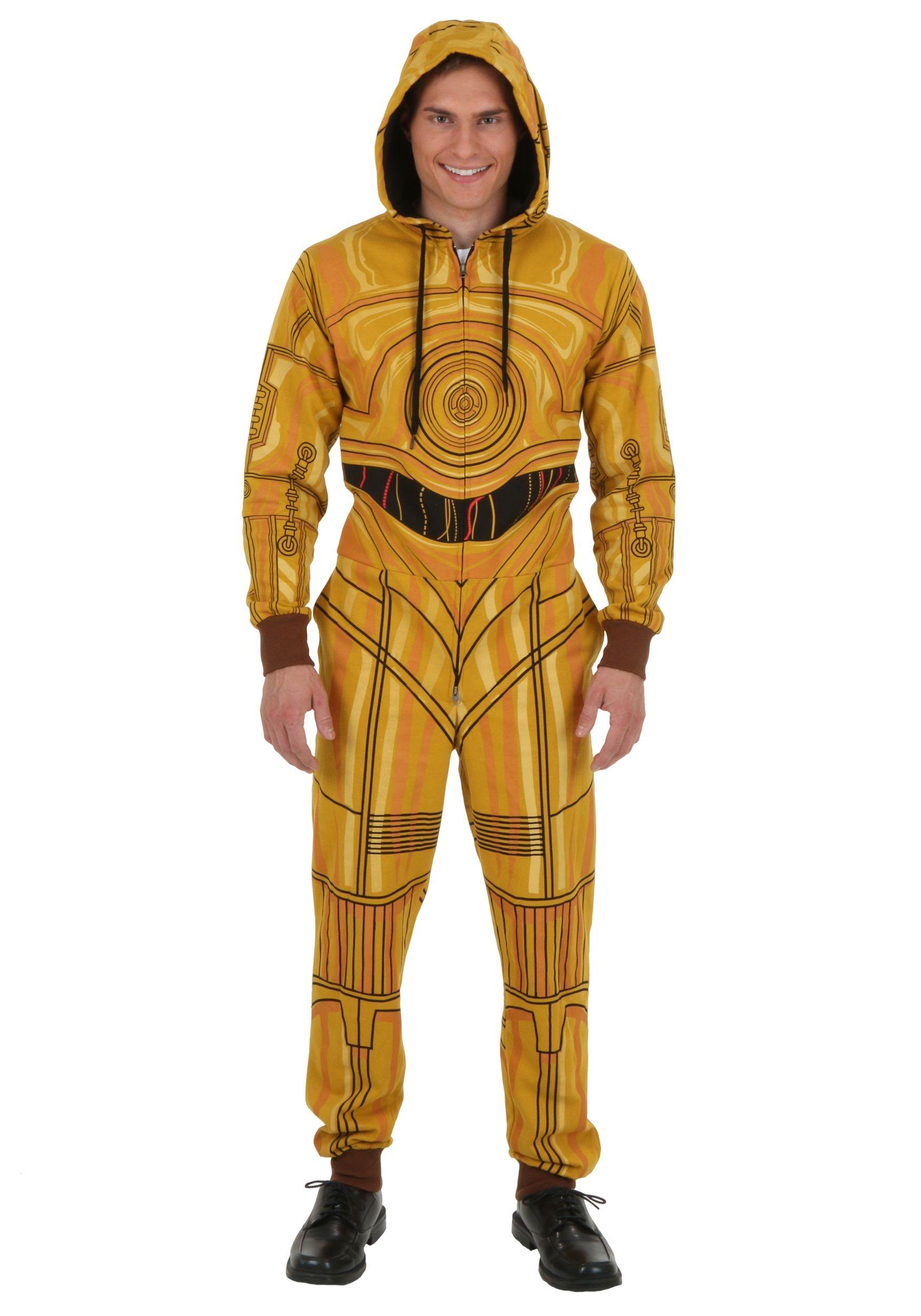 C3PO Costume Jumpsuit  09681d08d770