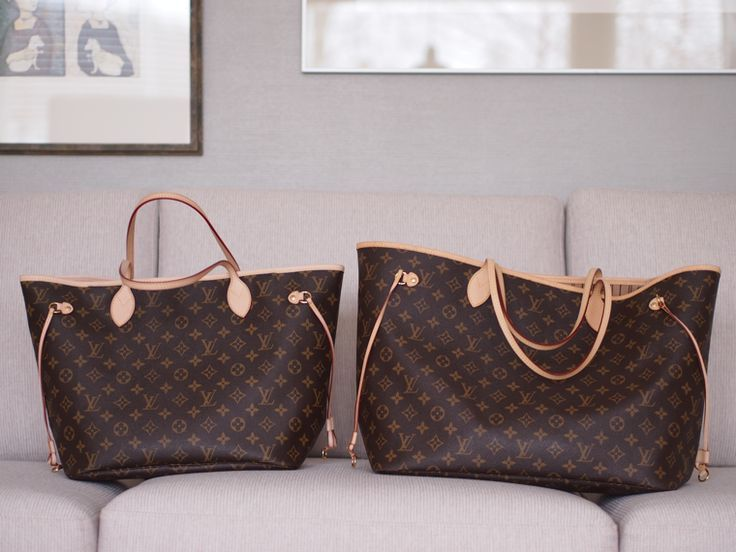 5860a94e0041 Lindsay s Diaries  Neverfull MM vs. GM (Great photos)