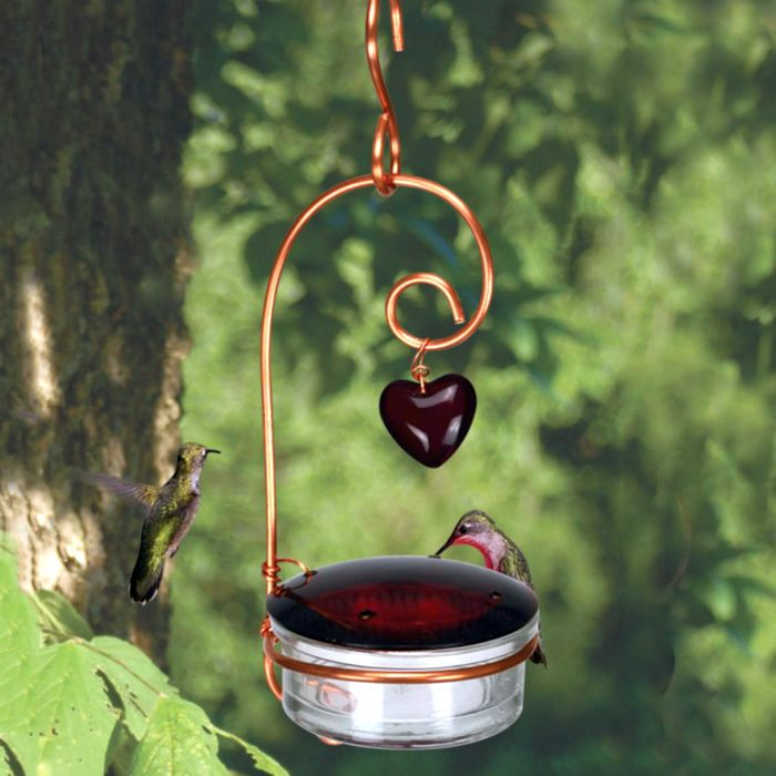 Tweet Heart Hummingbird Feeder Such A Sweet Easy To Clean Refill With Removable Cover