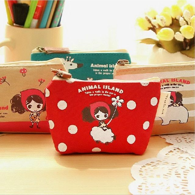 Purses & Wallets Kids & Baby's Bags Cartoon Cute Small Kids Womens Purse Coin Wallet Purse Money Pouch Cactus Change Pouch Key Canvas Lovely Girls The Swing Holder