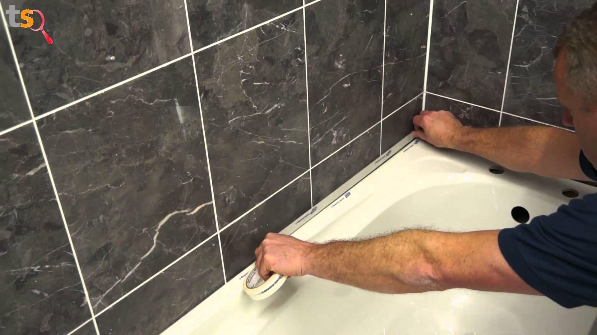 Tips For Removing And Replacing The Moldy Shower Caulk In A Bathroom Shower.  Old Caulk Removal, Clean Up, And New Caulk Installation Are Covered.