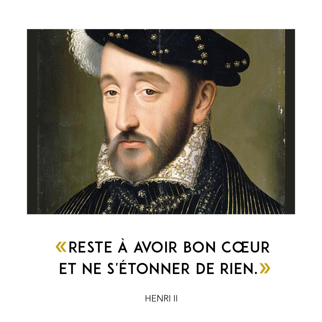 Portrait Of Henry II Of France By François Clouet