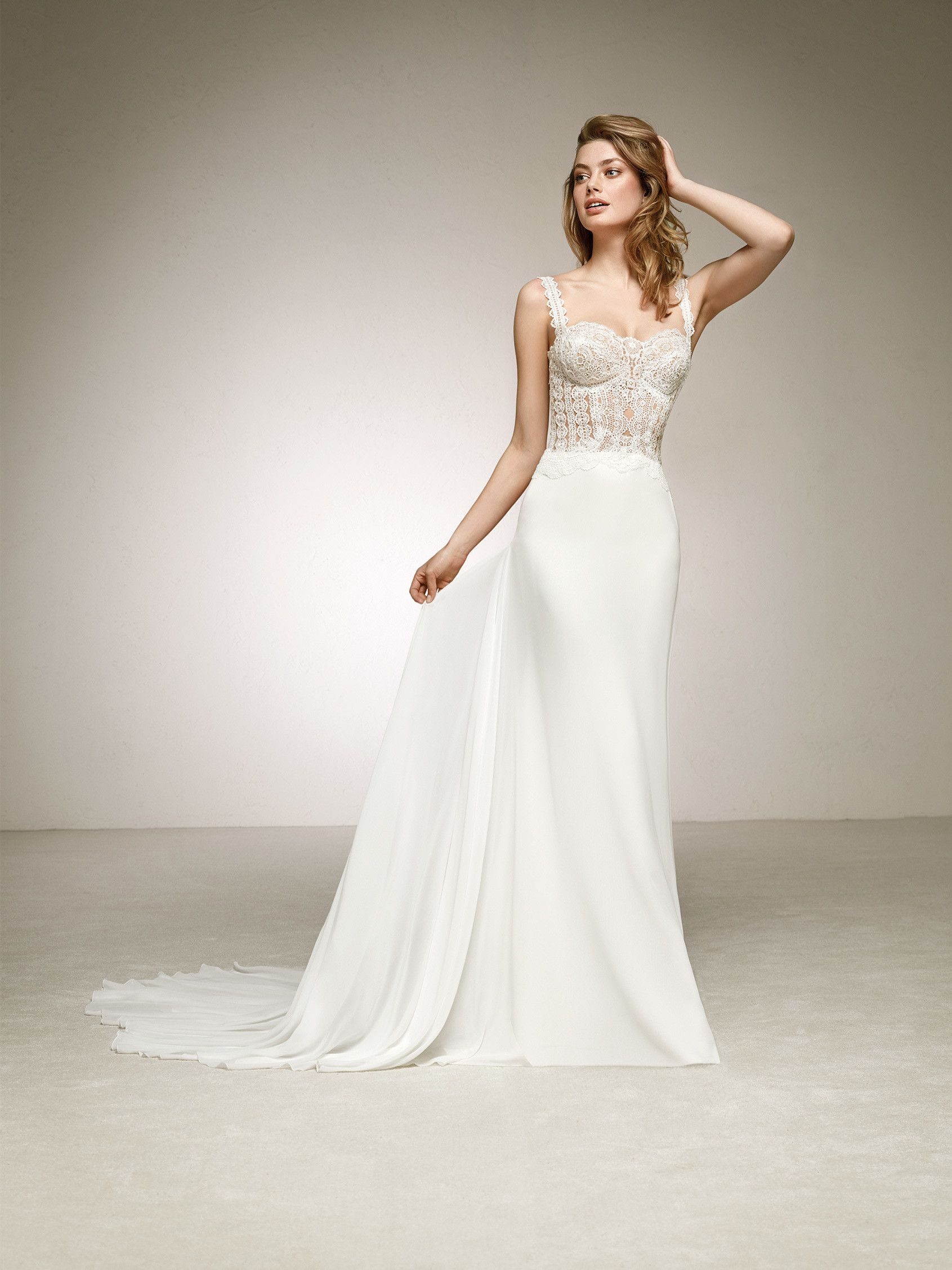 Vestido de novia boda sencillo