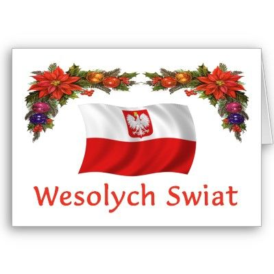 Merry Christmas In Polish.Merry Christmas In Polish Is Wesolych Swiat Honour