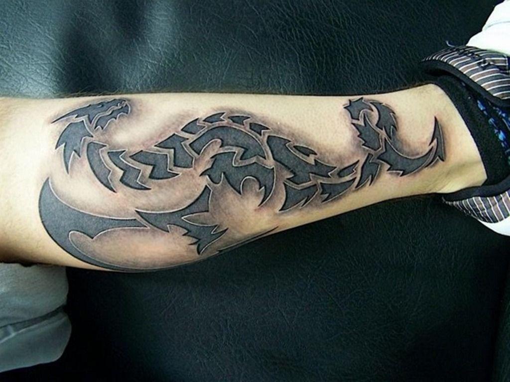 glow in the dark dragon tattoos Google Search 3d