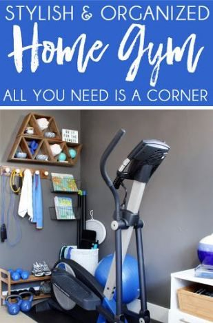 trendy fitness equipment storage small spaces workout