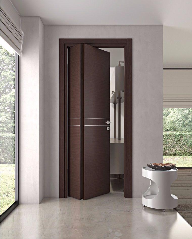 Puertas de interior modernas el estilo entra en casa for Puertas de madera interiores modernas