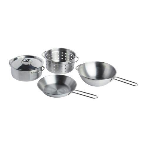 Ikea Kids Pots Pans Set Ikea Toys Cookware Set Stainless Steel Cookware Set