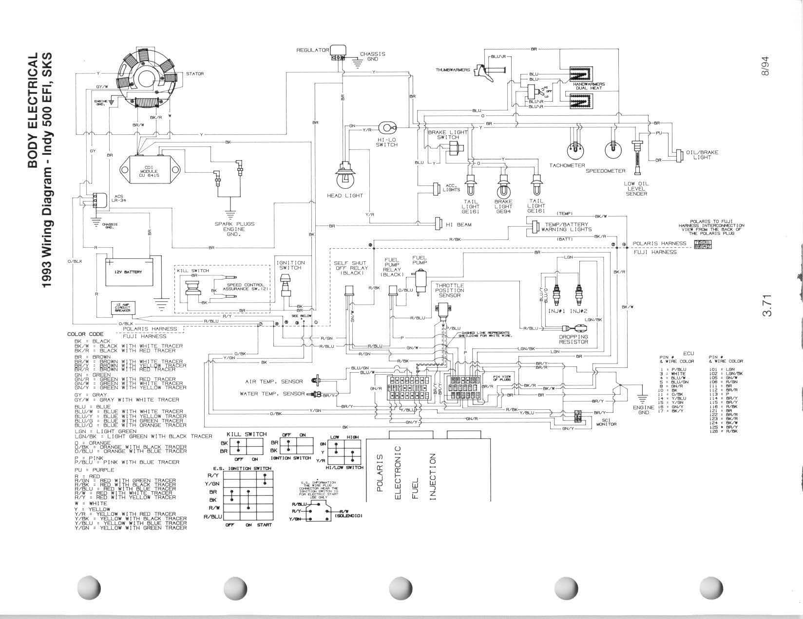 2008 Polaris Wiring Diagram