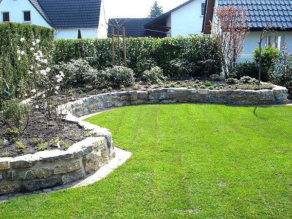 Vorgartengestaltung mit steinen und grasern  Gartengestaltung Mit Steinen Und Gräsern | Garten | Pinterest