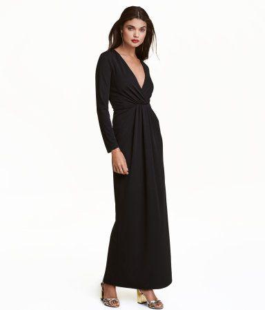 tricot lange jurk