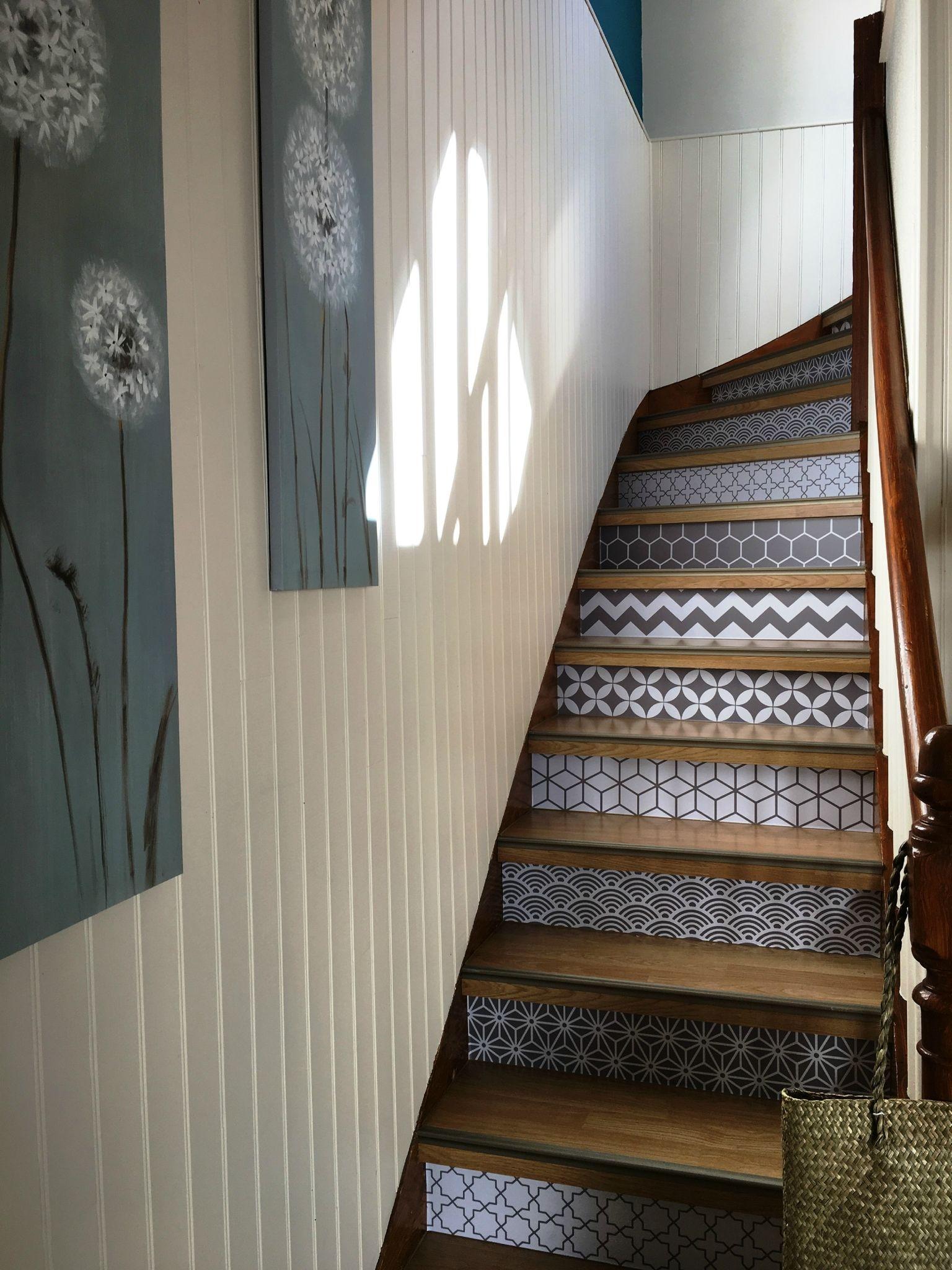 Une Id E Sympa Pour D Corer Un Escalier Refugelandingcool