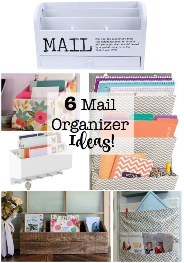 6 Mail Organizer Ideas Diy Mail Organizer Mail Organizer Wall Mail Organizer