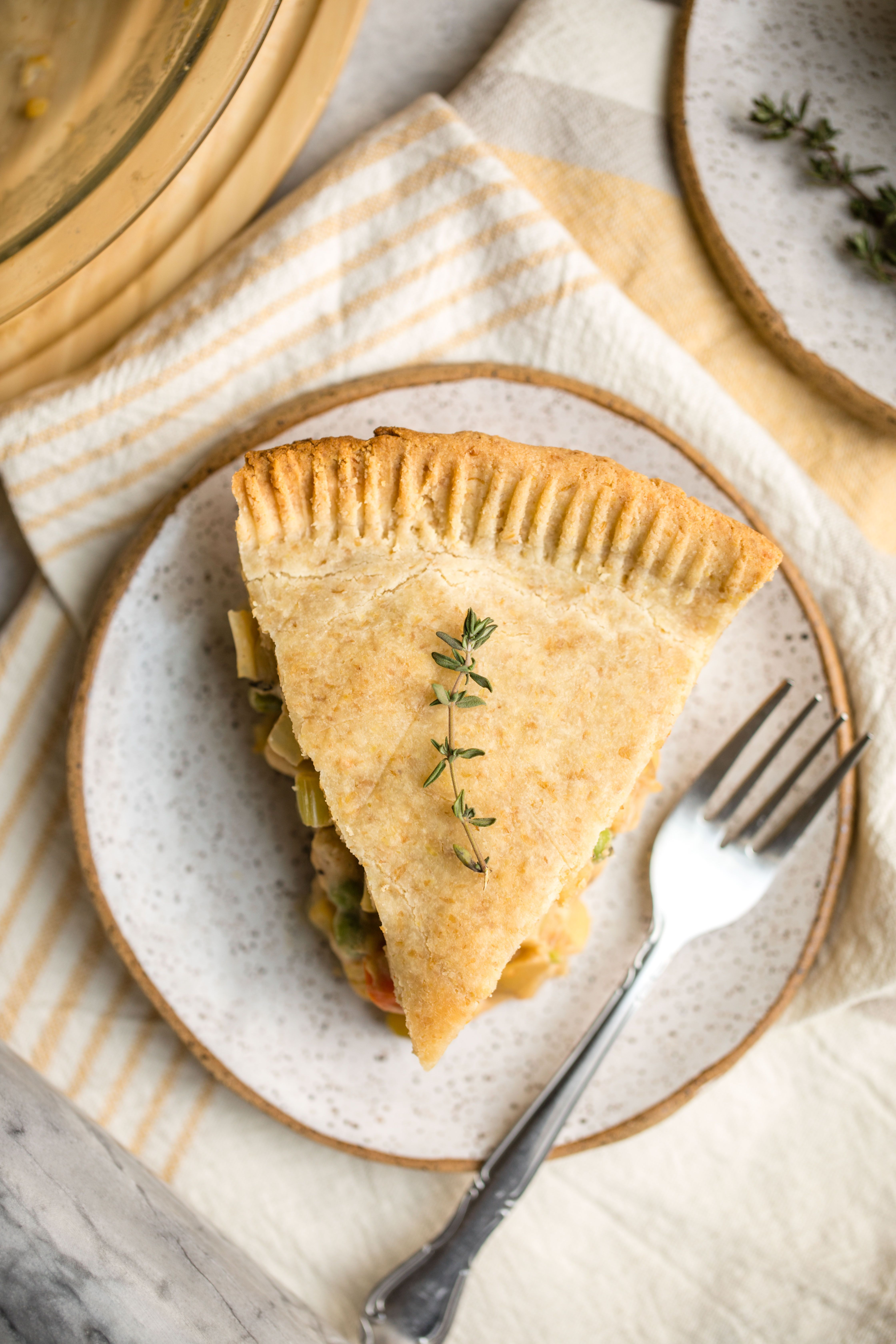 Vegan Chickpea Pot Pie