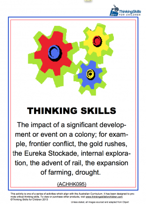 social studies curriculum effects on students critical thinking skills Teach critical thinking skills and creative thinking to your children.