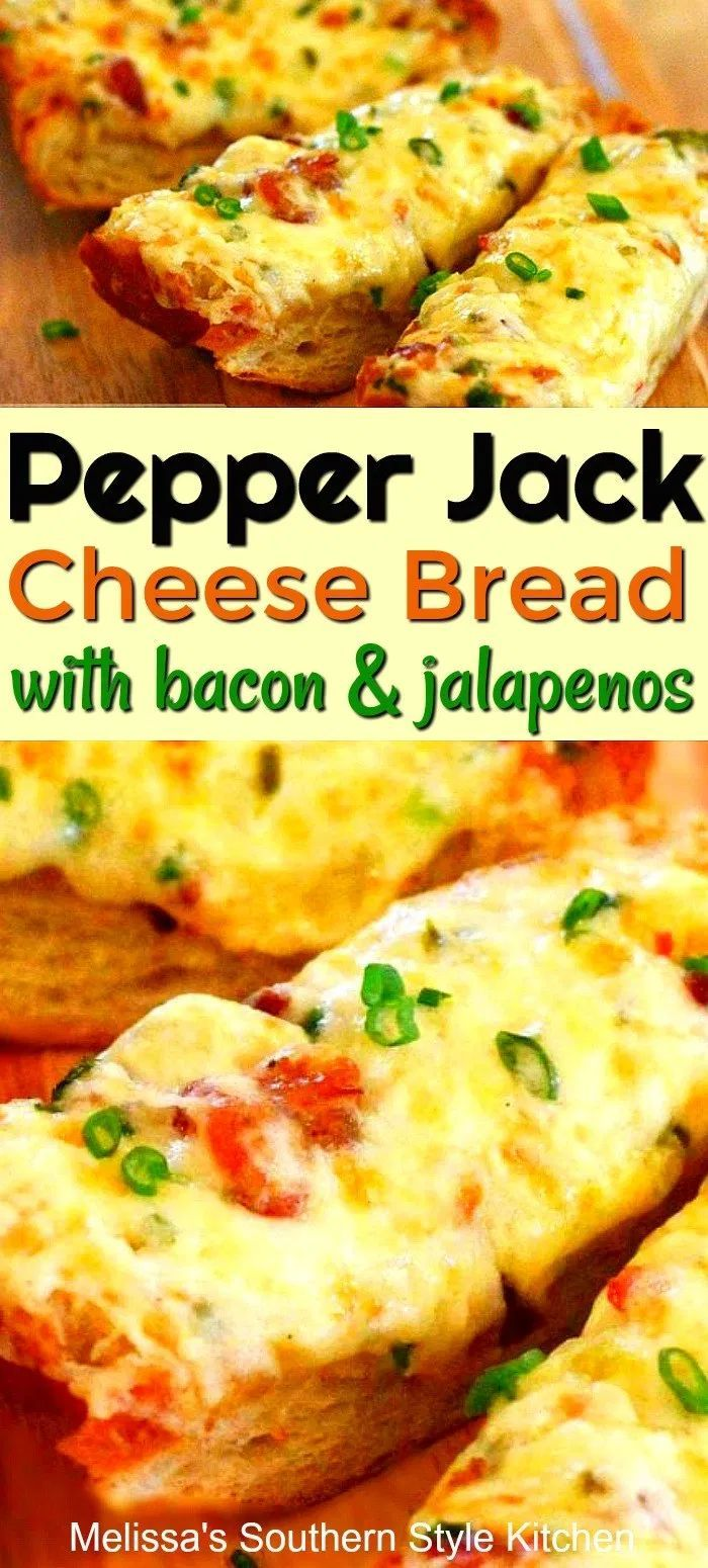 Pepper Jack Cheese Bread with Bacon And Jalapenos Pepper Jack Cheese Bread with Bacon And Jalapenos