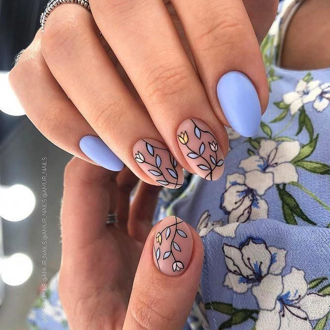 35 Classy Nails Designs To Fall In Love | NailDesignsJournal.com