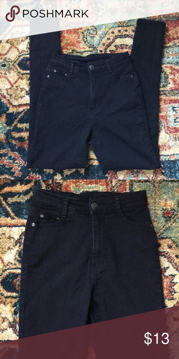 8531e373388 Fashion Nova High Waisted Jeans These are a pair of high waisted jeans from  Fashion Nova