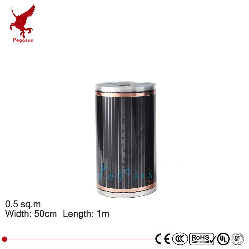 Length 1m Width 50cm Far Infrared Carbon Crystal Heating Film High