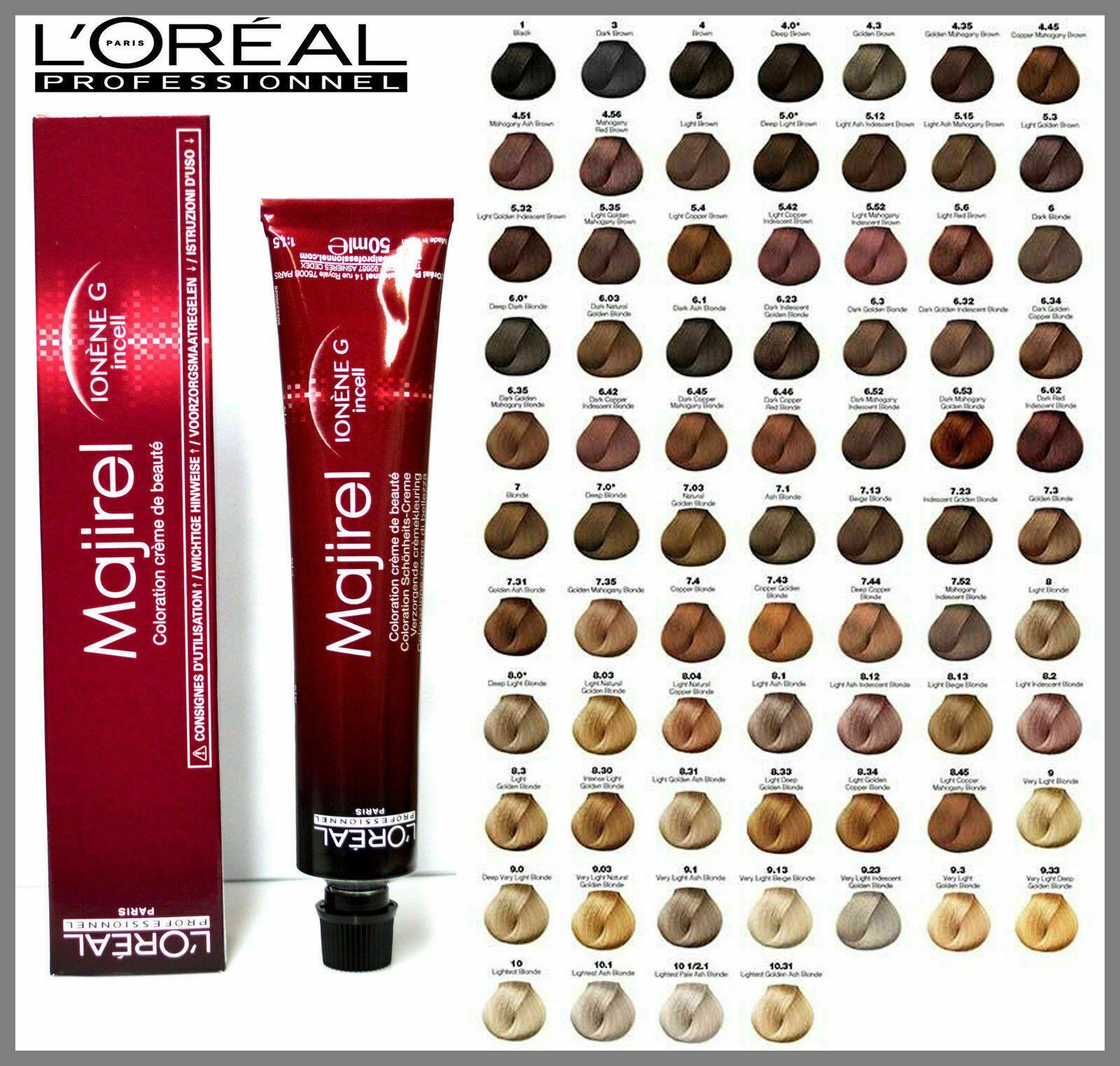Loreal Professional Majirel Majirouge Blonde Hair Dye Colour 50ml Tube Ebay Em 2020 Tinta De Cabelo Coloracao De Cabelo Cabelo