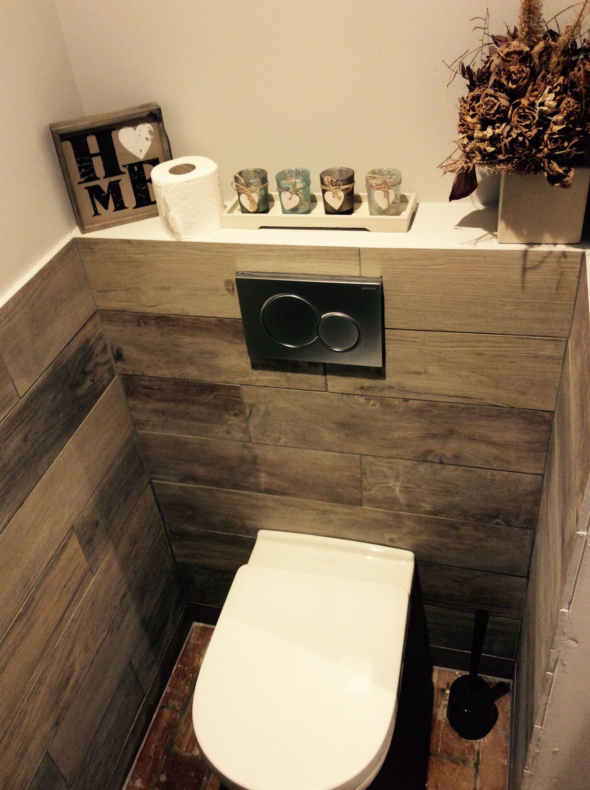 Toilette Carrelage Imitation Bois WC En 2019 Carrelage Imitation Bois Carrelage Toilette Et