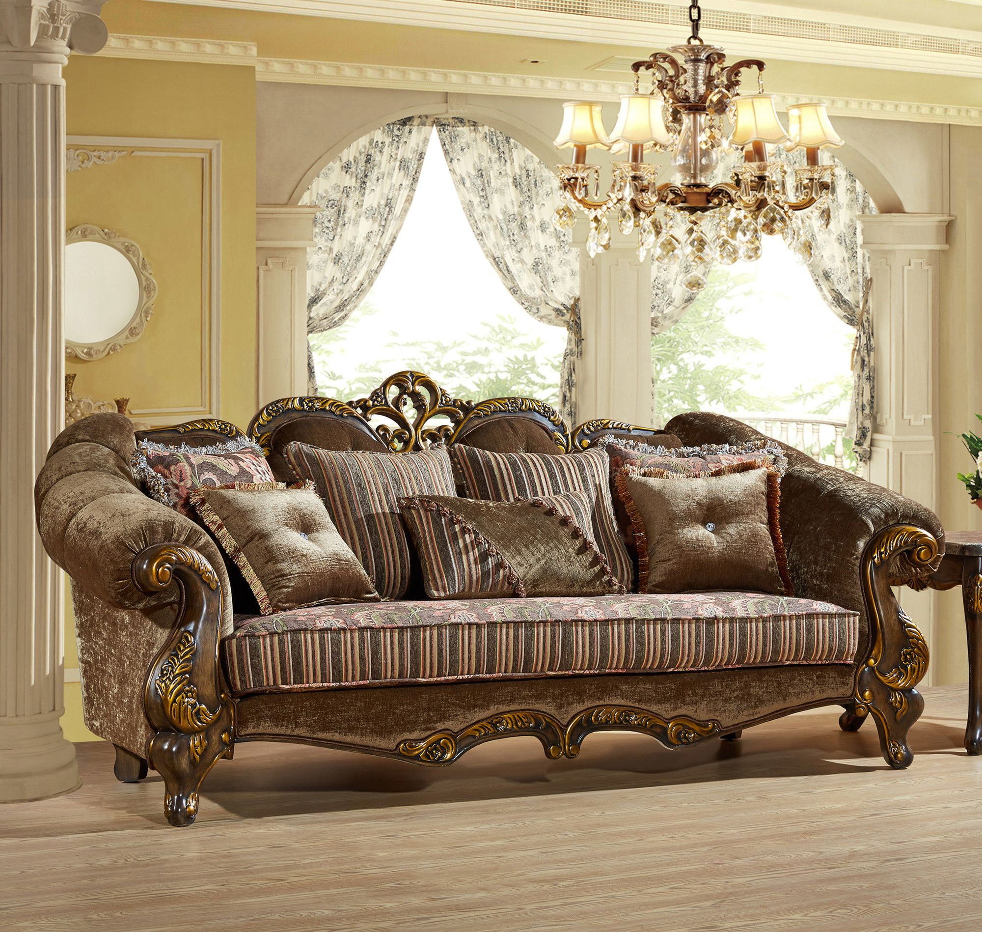 Traditional Sofas Living Room Furniture: Furniture, Meridian
