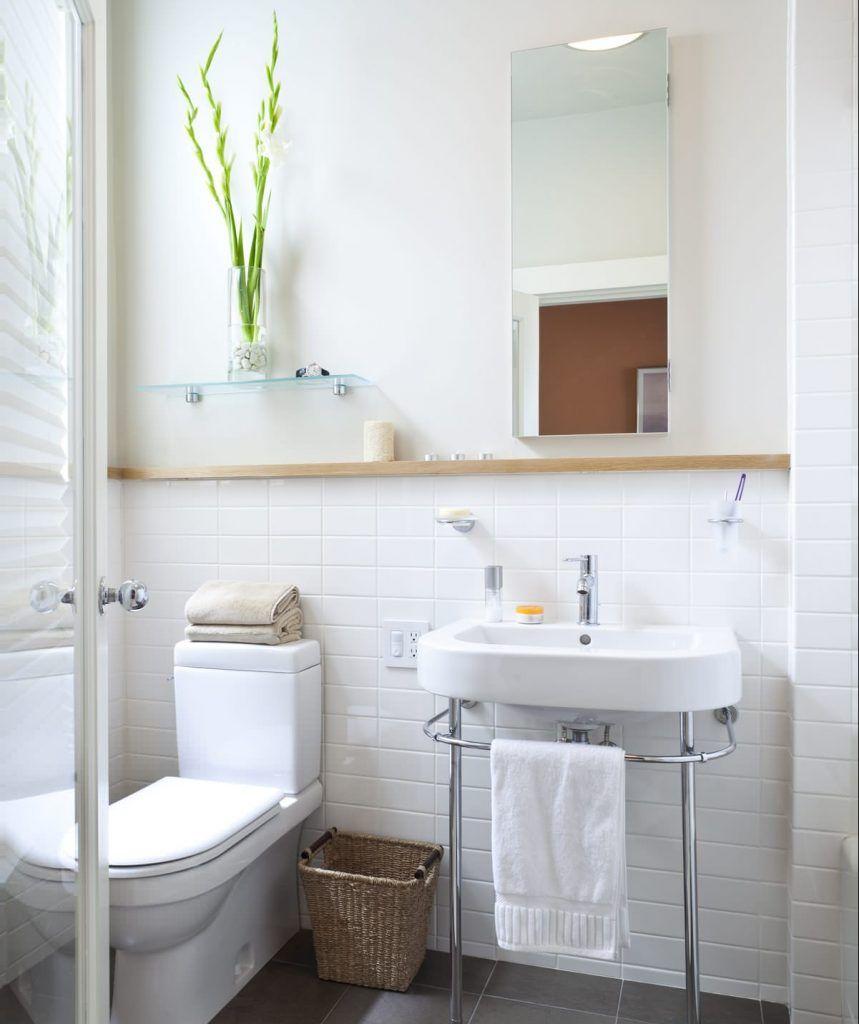 35 Best Bathroom Shelf Ideas For 2021 Unique Shelving Storage Bathroom Shelves Minimalist Bathroom Small Bathroom