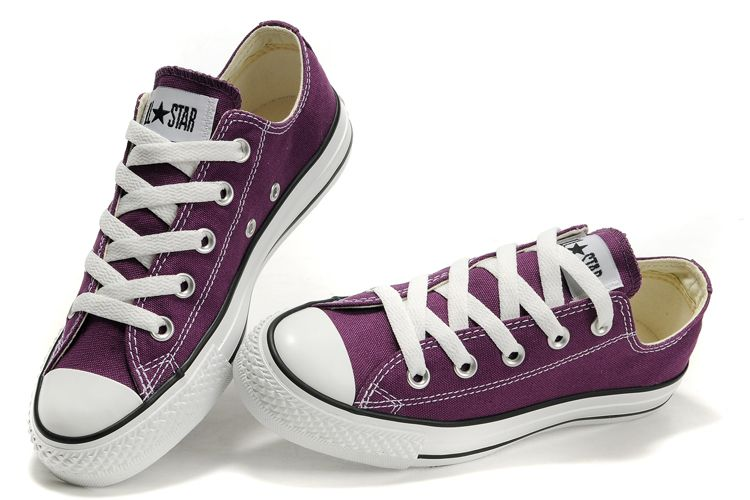 b05a6f331957 Purple low top converse ...or in high tops.