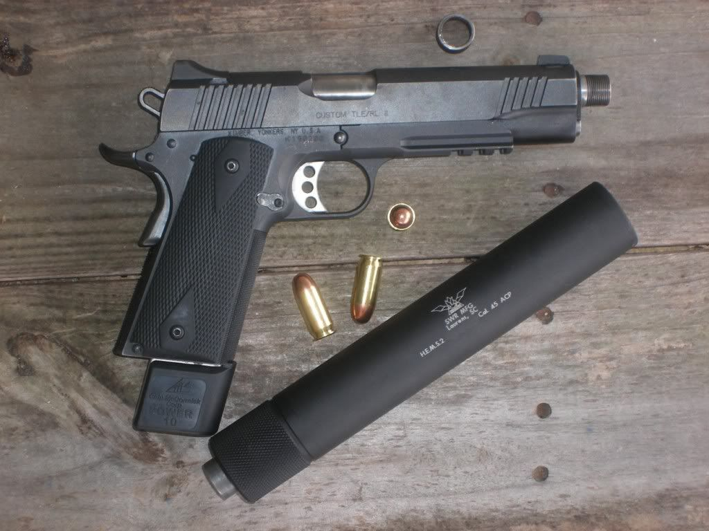 This is pretty much the sum of perfection. (Subsonic ... M1911 Suppressed