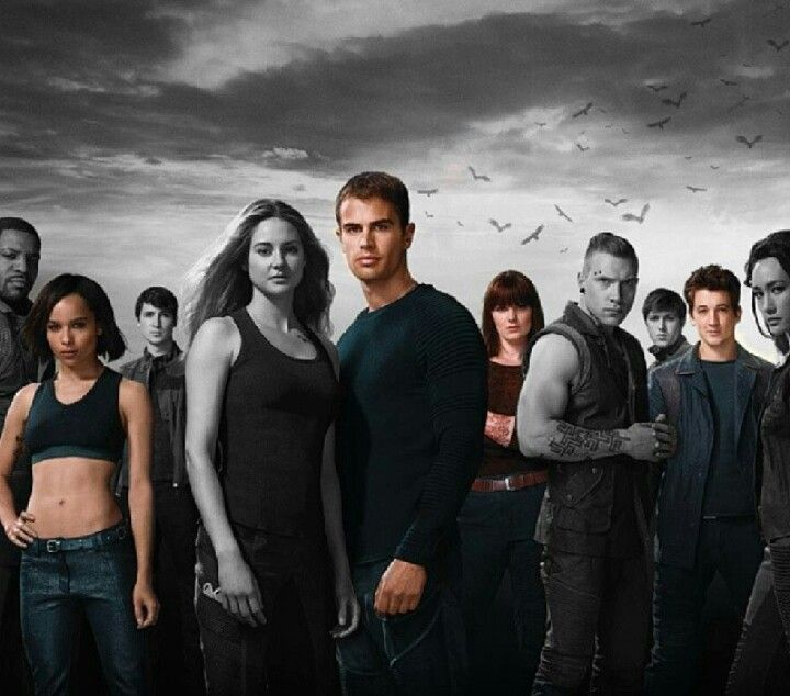 *****SPOILER******Divergent, Insurgent and Allegiant this makes me so sad because the gray..