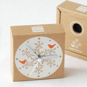 hakodokei designed by japanese designer TOSHINORI MORI