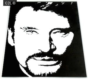 Autre portrait johnny hallyday portraits de stars for Miroir johnny hallyday