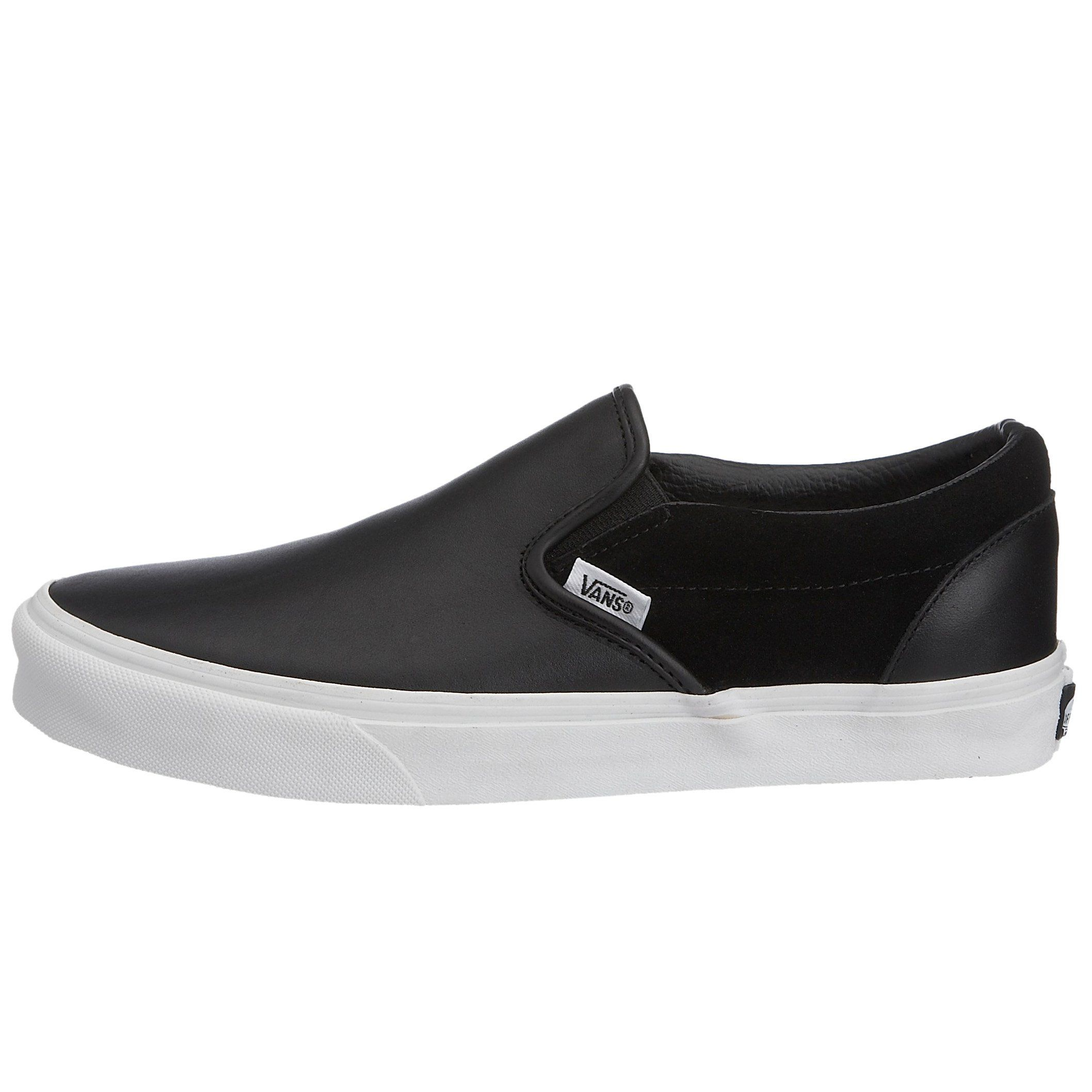 black slip on vans 3.5