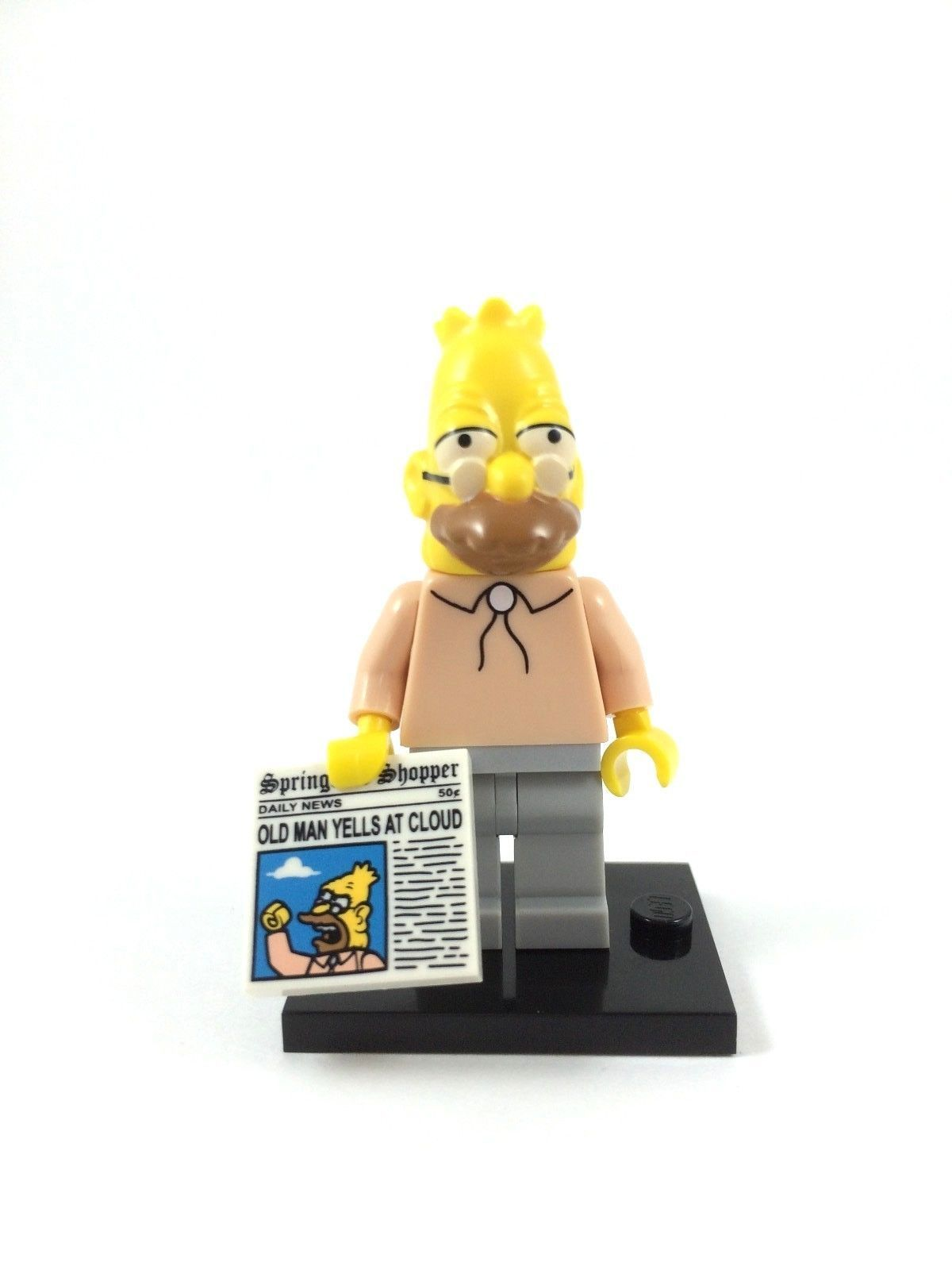MINT CONDITION LEGO SERIES 1 SIMPSONS GRAMPA