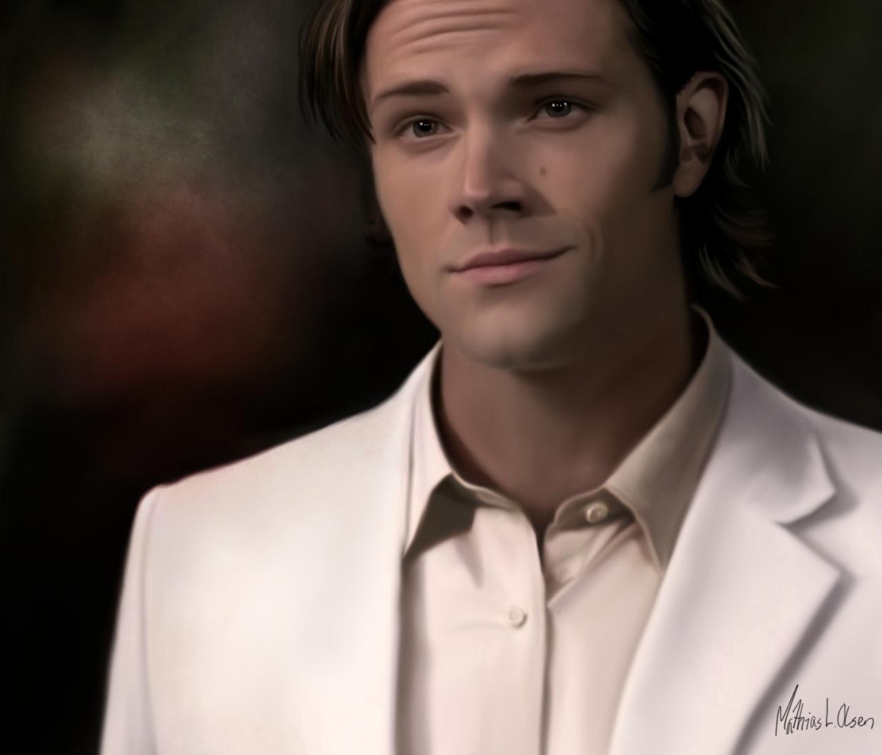 Supernatural Fan Art: Jared Padalecki As