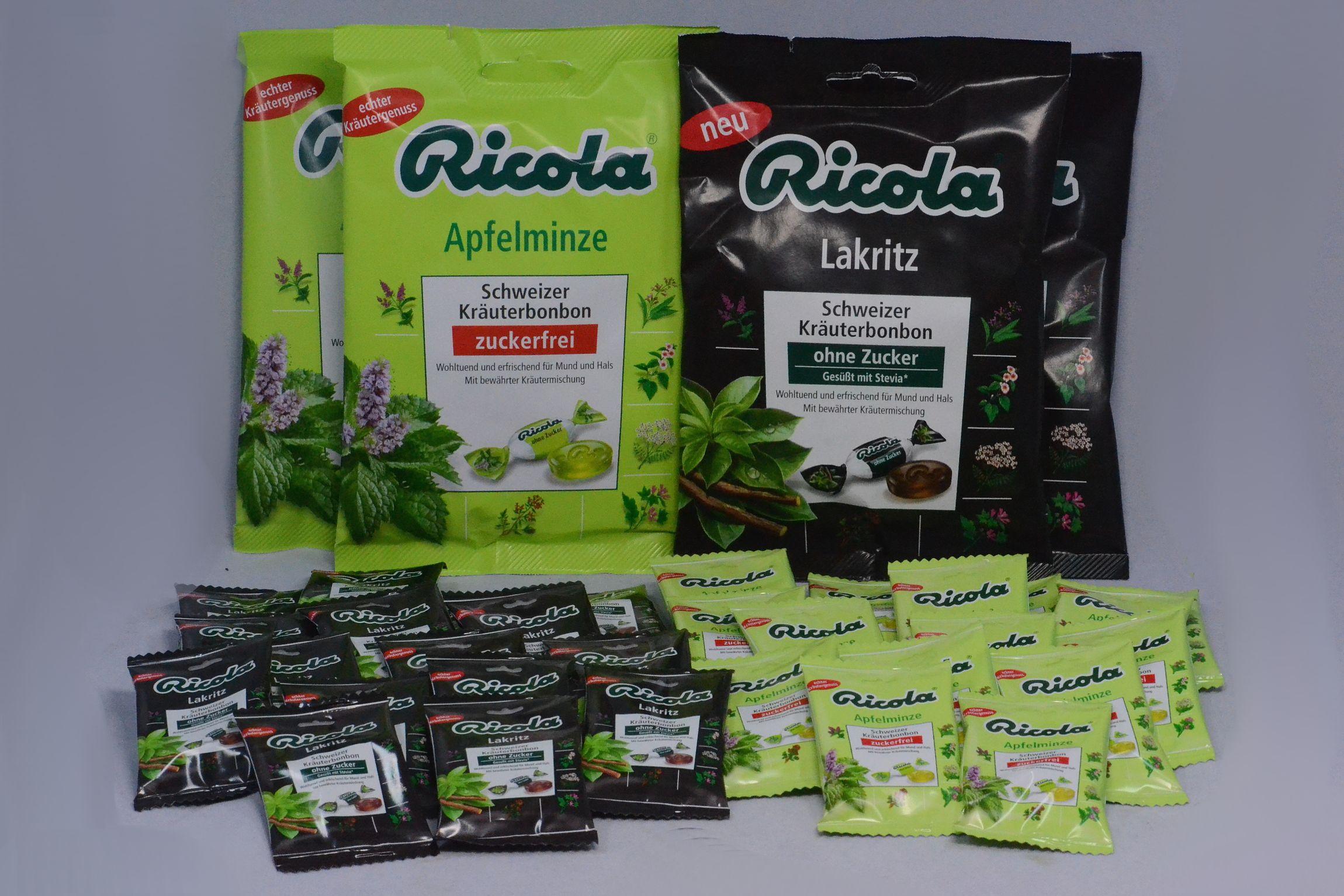 Produkttest der neuen Bonbonsorte Apfel und Lakritz von Ricola --- www.produkttest-welt.de