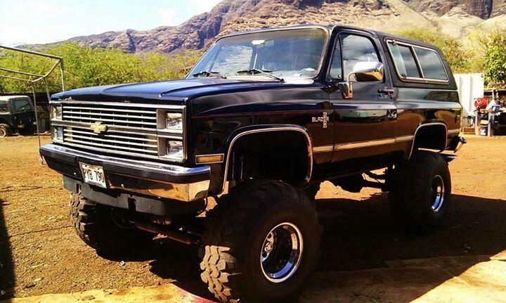 My 1984 Chevy K5 Blazer My Monster Chevy Blazer K5 Lifted