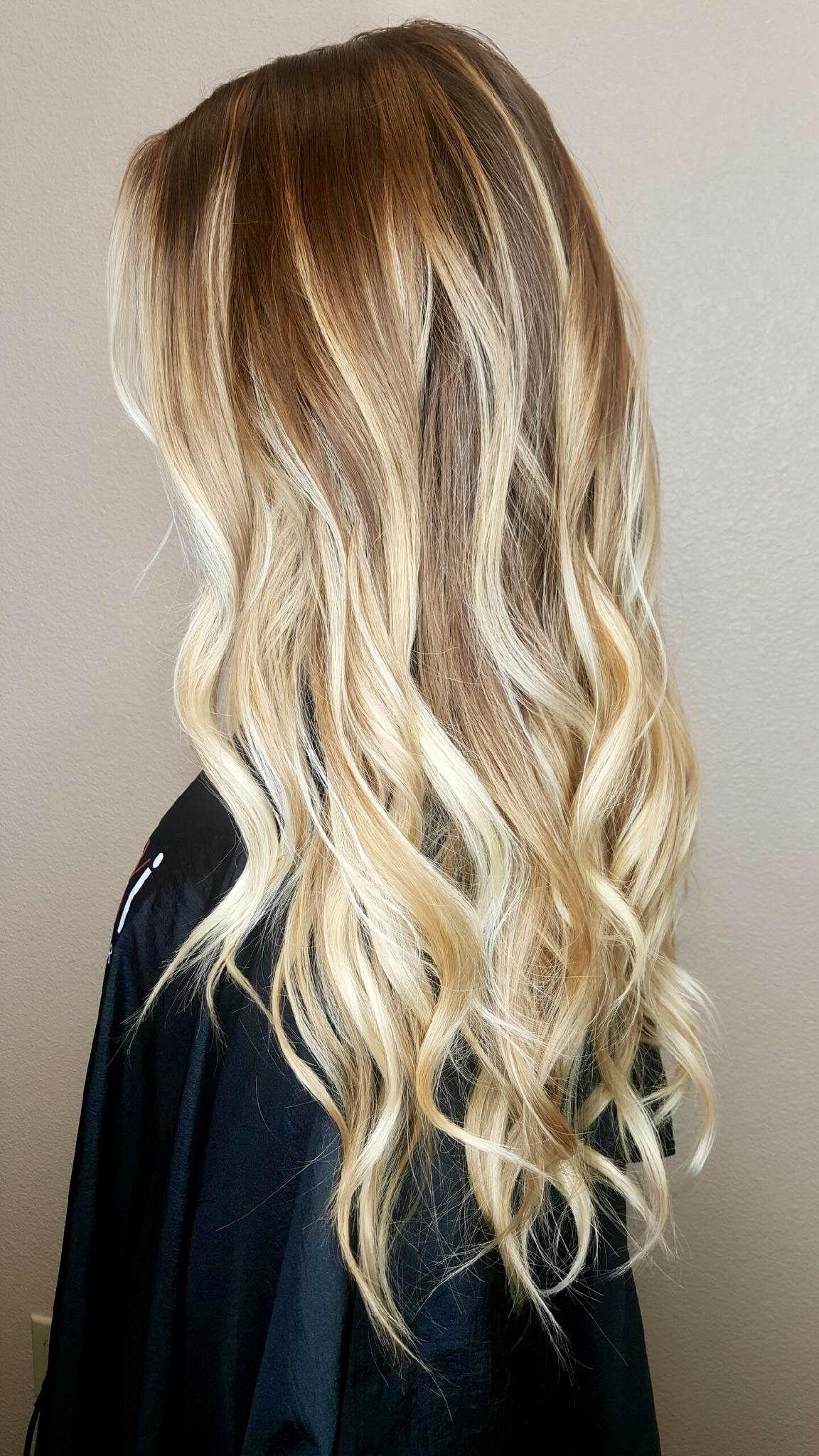Blonde Balayage By Amber Rose Honeycomb Studio Blonde