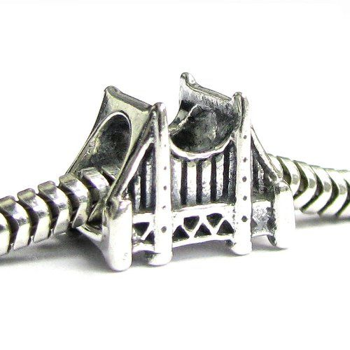 Amazon Com Queenberry Sterling Silver San Fransico Golden Gate
