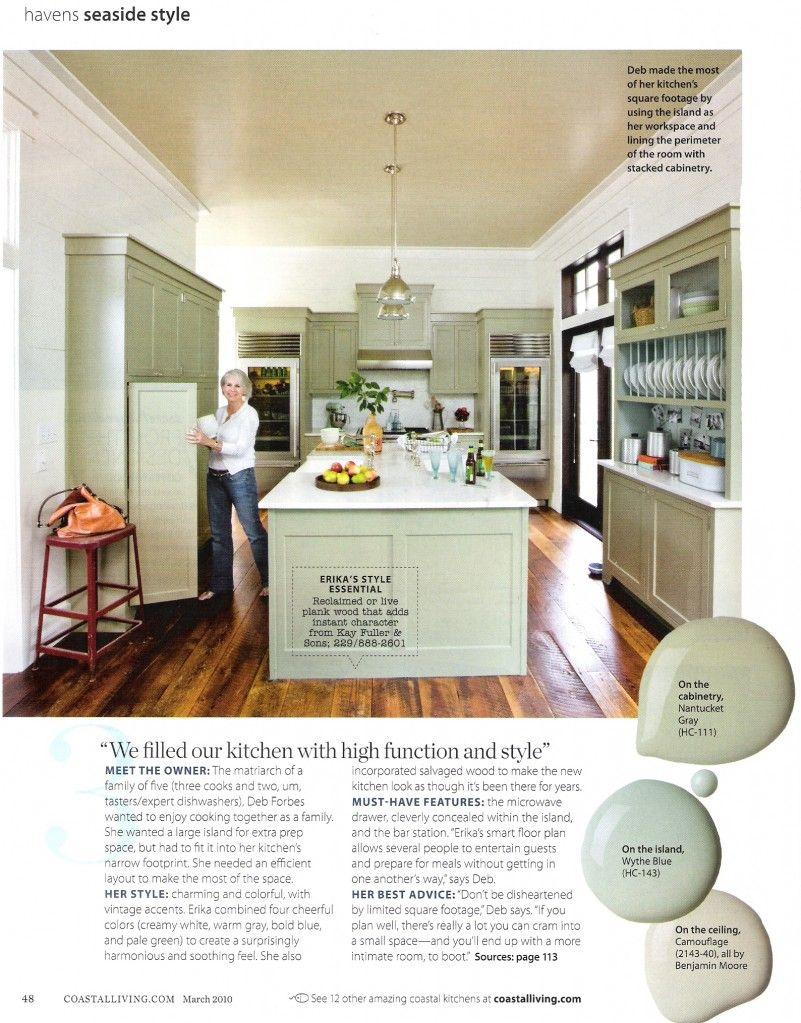 Colors Coastal Living Kitchen Kitchen Design Kitchen Inspirations