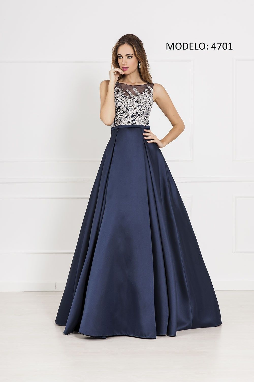 56f724bb4 LdB2 - MODELO 4701 Vestidos Elegantes Para Boda