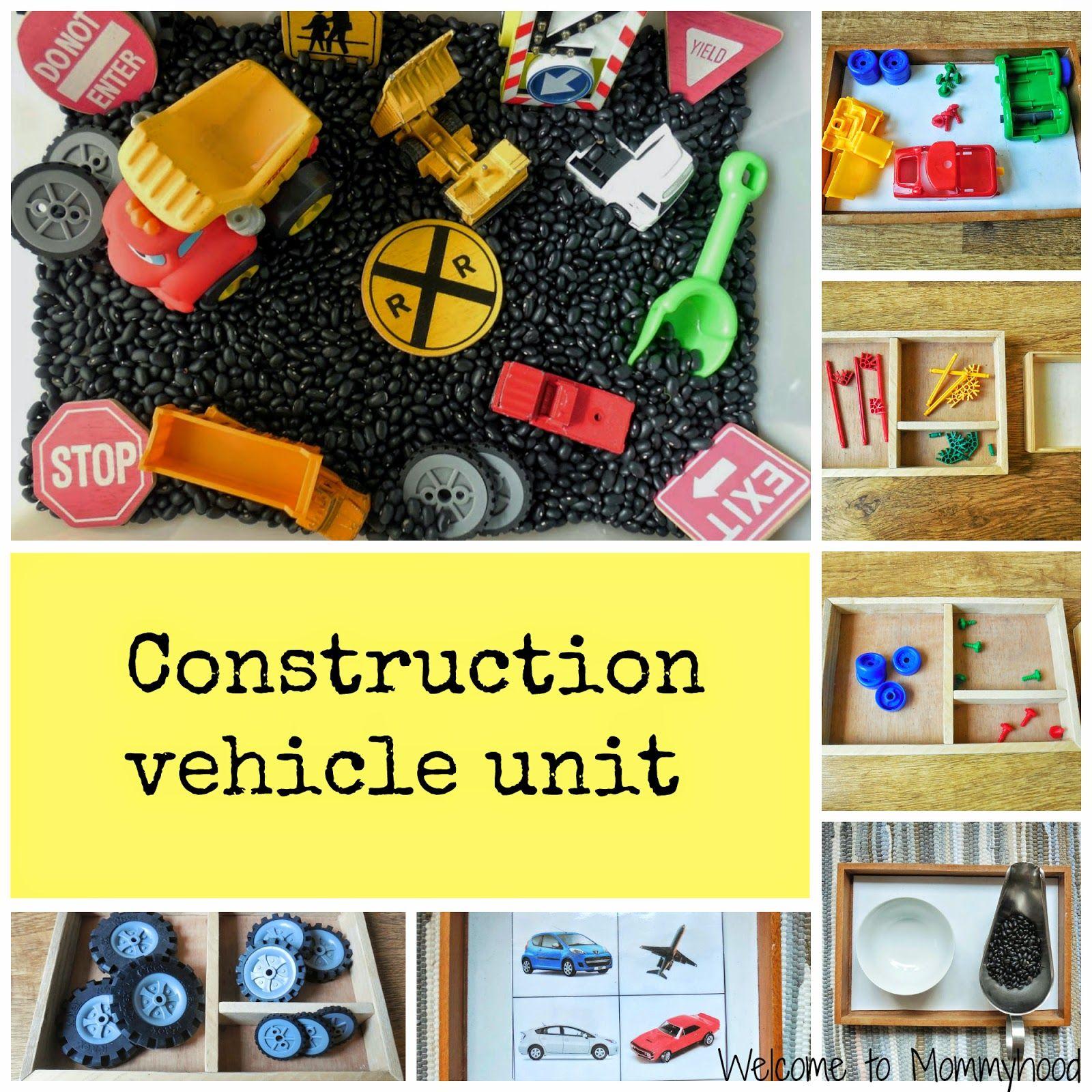 Construction Activities For Kids Montessori Inspired