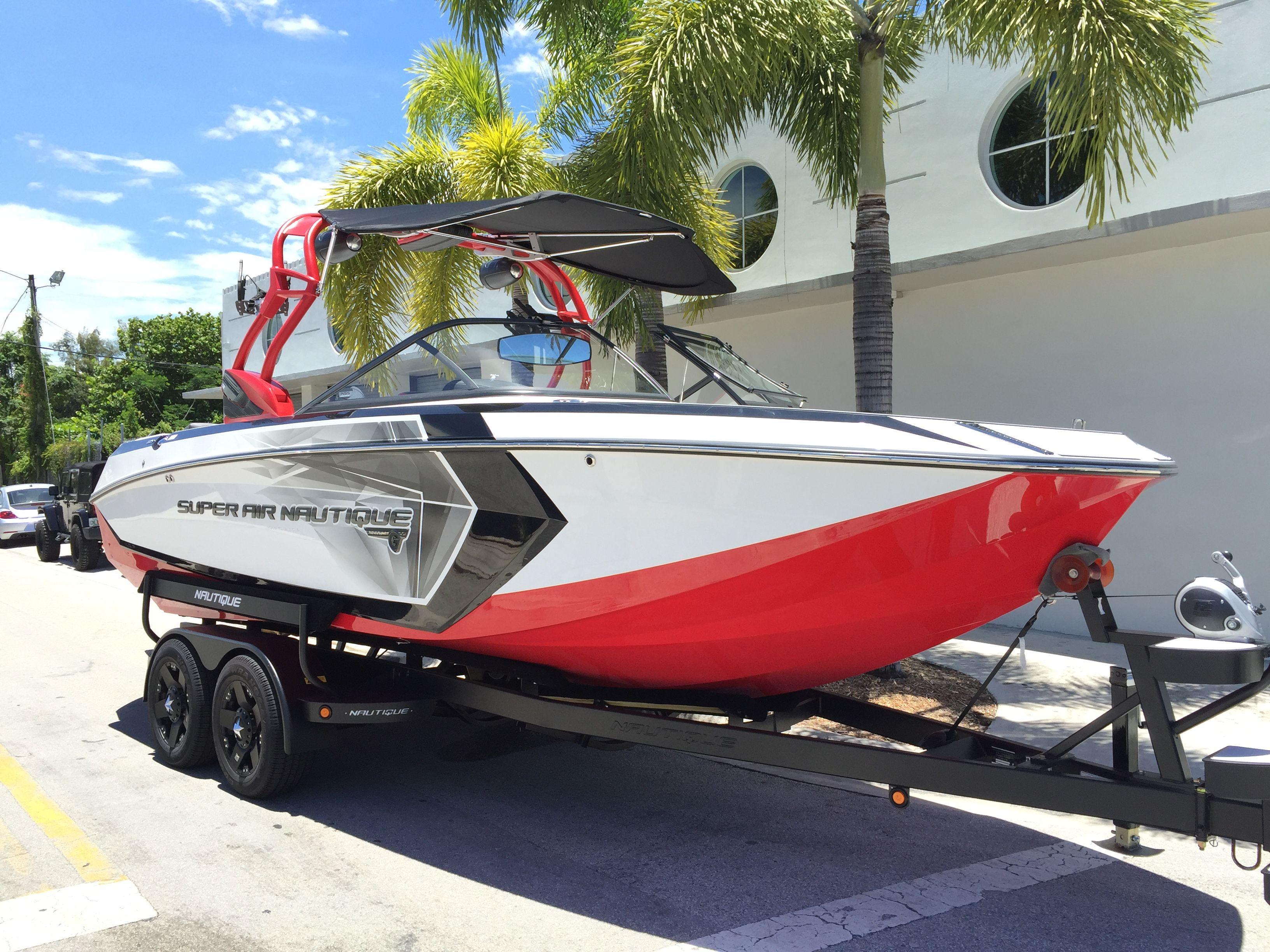 2016 Super Air Nautique Coastal Boat wraps, Boat