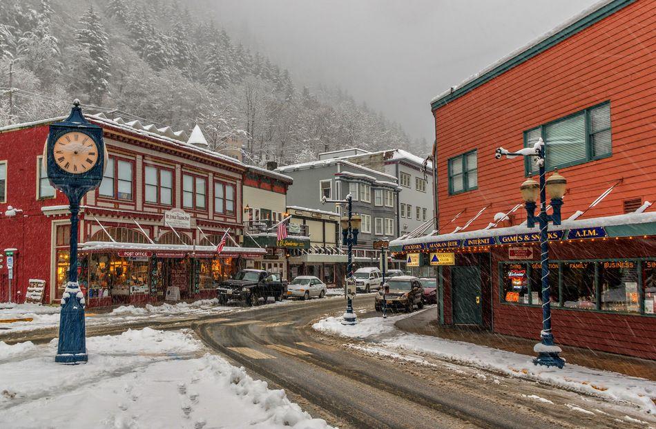 Photo Downtown Juneau Winter Storm Warning Wunderground Com Weather Underground Juneau Alaska Winter