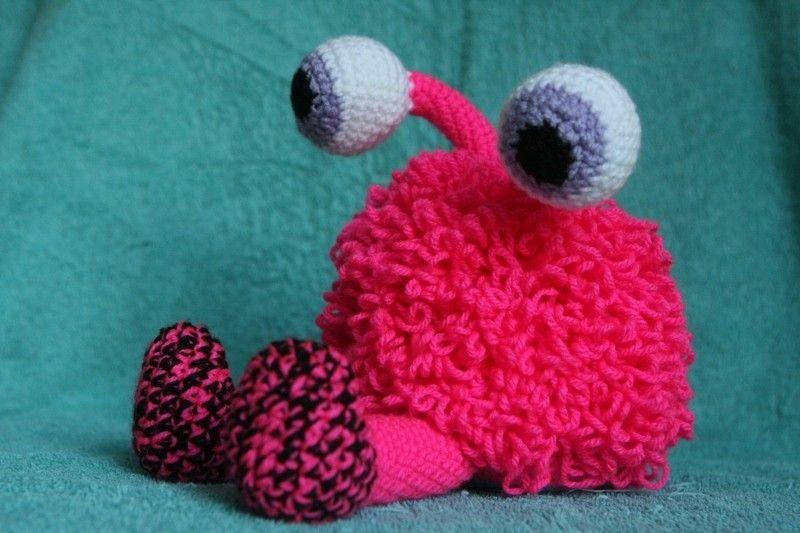 crochet monster gehäkeltes Monster Amigurumi