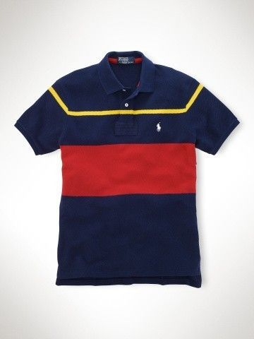 Polo ralph lauren custom-fit chest stripe polo ri2000 navy,ralph lauren  romance,